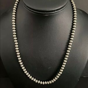 Sterling Silver 5 mm Bead Necklace